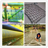 Protection contre les UV Protection haute vitesse Nylon Escalade Cargo Net