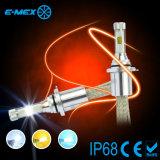 farol 9005 do diodo emissor de luz 7200lm 9006 H10 Hb3