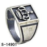 남자를 위한 공장 도매 925 Steling 은 반지