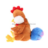 熱い販売のプラシ天の動物のカスタム鶏キャンデー袋