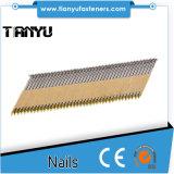 2''x. 113 Galv anillo de papel caña Nails Strip sujetado con cinta adhesiva
