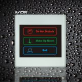 El panel al aire libre del sistema del timbre del hotel en el marco plástico del esquema (SK-dB2300S3A)