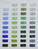 プール、鉱泉の装飾的な材料のためのガラスモザイク青いタイル