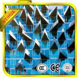 Diseño Exterior Arquitectónico Vidrio Aislado para Proyecto de Edificio