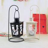Sostenedor de vela colgante clásico del arte del metal para Homeware