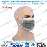 Maschera di protezione attiva del carbonio con il ciclo o il legame dell'orecchio sopra