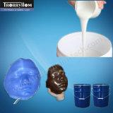Borracha de silicone da carcaça da vida da classe médica para a face artificial