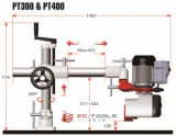 Madera que trabaja el alimentador de la potencia de las ruedas de la frecuencia 3 de la despedida de la velocidad de Stepleess (pinta - 300)