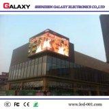 Fixes extérieurs installent annoncer l'affichage vidéo de panneau de P6.67 DEL, écran, signe, mur, Billboar