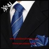 100% hechos a mano tejidos de seda Corbatas Personalizadas