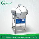 Autoclave horizontal de stérilisateur de vapeur de pression d'acier inoxydable avec le rai (BXW-360SD-G)