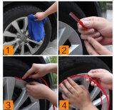 10의 색깔 8m/롤 Rimblades 차 바퀴 변죽 프로텍터 타이어 가드 선 고무 스티커