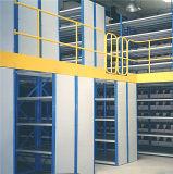 2 Mezzanine van rijen het Rek van de Vloer met de Bak van de Opslag