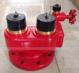 ガスのための入口弁にそして砲尾をつける4方法消火栓