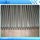 Elemento de filtro do aço inoxidável 316