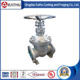Изготовление запорной заслонки литой стали