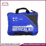 医学のスポーツのレスキュー屋外の緊急時の救急箱