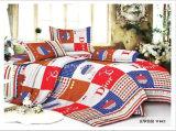 Ropa de cama determinada de las colecciones del hotel del lecho llano polivinílico