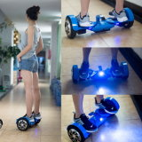 Self Balancing Smart Hoverboard with 3 - Part Body Design and LED Lights