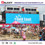 Im Freien druckgießende farbenreiche Miete LED-Bildschirm-Innentafel für Ereignis P3.91/P4.81
