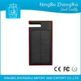 2016 Coming 8000mAh Solar Power Bank para Tablet PC, telefone e laptop