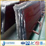 El panel de emparedado de aluminio del grano de la madera de china para la decoración
