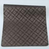 Couro impresso alta qualidade de Upholstery do PVC do plutônio do falso para decorativo
