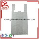 Bolso de compras impreso color plástico de la camiseta