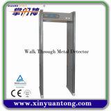 Détecteur de métaux portatif de degré de sécurité de cadre de porte de Multi-Zones (XYT2101S)