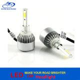 linterna 880/881 H1 H3 H7 H8/H9/H11 9005 de la MAZORCA C6 LED de 72W 7600lm 3000k 6000k lámpara principal de 9006 coches LED