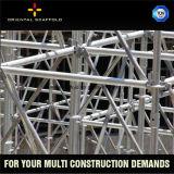 Aufbau Ringlock modulares Baugerüst
