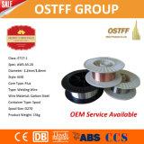 Alambre base consumible del flux de soldadura de MIG de los productos de la soldadura superior (AWS E71T-1)