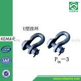 Tipo tipo tipo conexión de cadena de la UL de U del anillo pH de Zh del anillo de Extensin