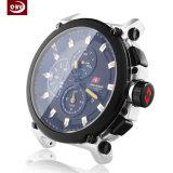 Peça feita à máquina CNC inoxidável preta personalizada do relógio do aço