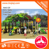 De kinderen kruipen Apparatuur van het Spel van het Pretpark van de Speelplaats De Openlucht voor Oefening