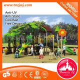 Equipo al aire libre de la diapositiva del patio de los cabritos para el parque de atracciones