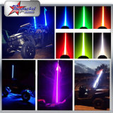 Buggy ATV LED Whip Light Último Whip Light para ATV 200cc 250cc 400cc 6 Feet Long Antena LED Flag Whip Dancing Whip