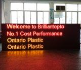 Personalizar o quadro de avisos do texto do diodo emissor de luz Digital para a propaganda comercial