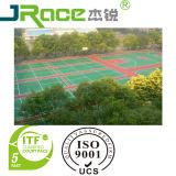 2016 Les plus populaires Silicon PU Sports Floor Surface