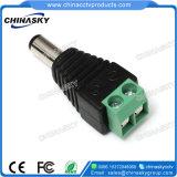 ねじ込み端子(PC102)が付いている男性CCTVのDC電源のアダプター・プラグ