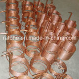 Cambista de calor de cobre da bobina