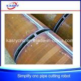 공장 사용 간단하고 쉬운 CNC 플라스마 또는 프레임 이음새가 없는 관 또는 관 절단 또는 훈련 또는 슬롯 머신