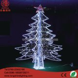 Pas de Kerstboom van de Kerstboom aan Light/LED