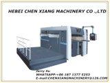 工場直売Cx1300の平らな折り目が付き、型抜き機械