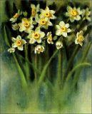 Картин-Цветки масла