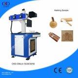 Macchina per incidere di legno di plastica del CO2 della marcatura da tavolino del laser