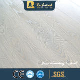 Pavimento laminato fonoassorbente impresso E1 dell'annuncio pubblicitario 12.3mm