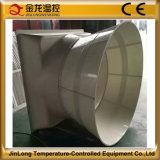 Jinlong parede de 54 polegadas/exaustor grande montado indicador de Tpye do cone da fibra de vidro do fluxo de ar com certificado do Ce