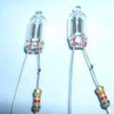 Kolben Welded Neon Lamp mit The Resistor