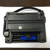 Noaa 날씨/Am/FM 라디오 LED 플래쉬 등 Solar+Crank Power+Emergency 충전기